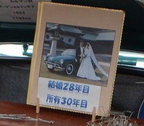 結婚28年目所有30年目のパネル
