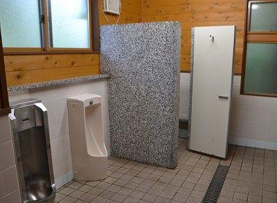 男子トイレの様子