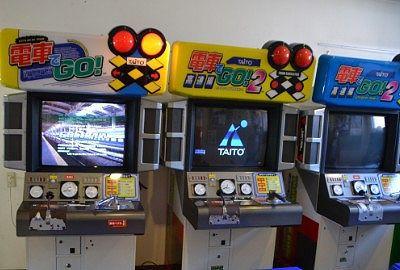 電車でGOのあったゲームコーナー