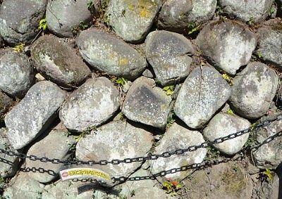 当時の石垣の様子