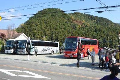 大型観光バス駐車場