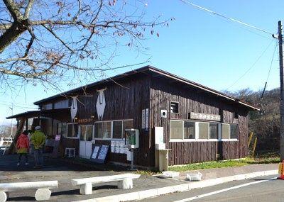 鉄板焼きコーナーの建物