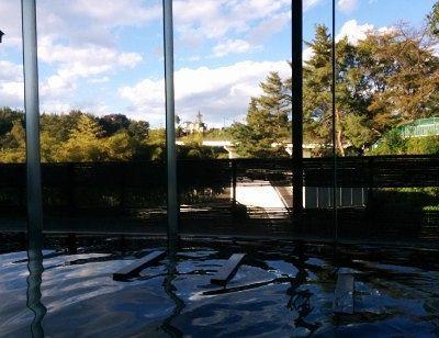 景色の良かった内風呂