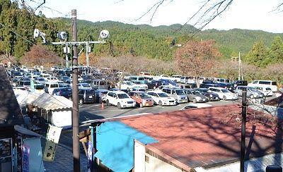 第一駐車場の様子
