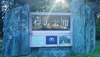 桜山公園入口