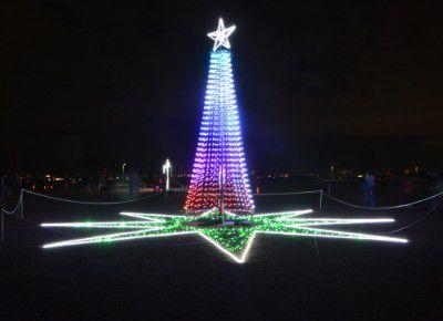 太田イルミネーション2018クリスマスツリー
