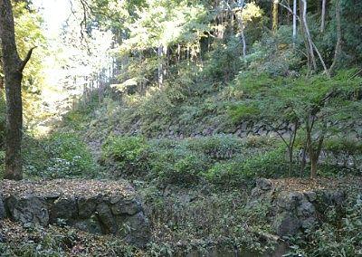 石垣と石畳の道