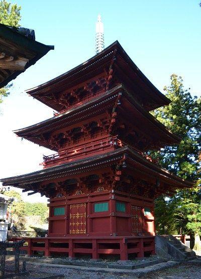 重要文化財の三重塔
