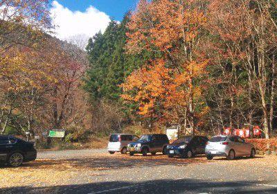 裏見の滝駐車場
