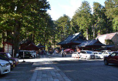 二荒山神社駐車場