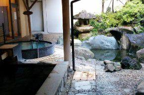 磯部ガーデン露天風呂