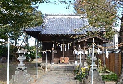 磯部赤城神社拝殿