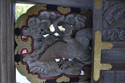 唐門の彫刻