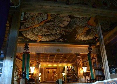 大国神社の龍の絵