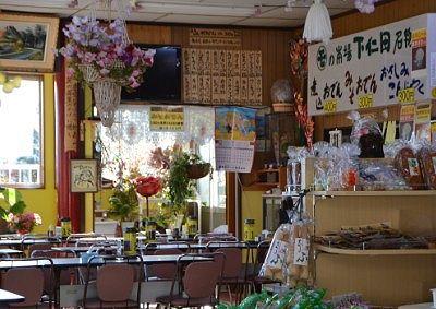 妙義山中之岳ドライブインの店内の様子