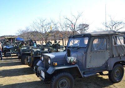 アーミー軍団の車