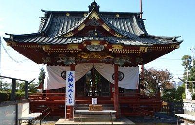 佐野東照宮拝殿
