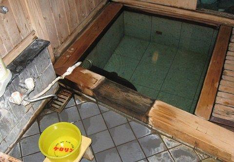 鹿の湯の内風呂