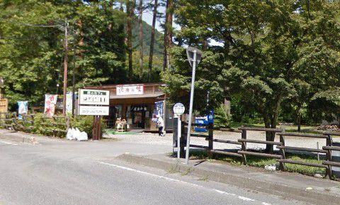 森のカフェKISEKIというお店と看板