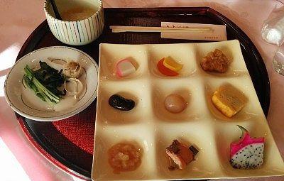 源泉粥のお好み朝食