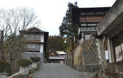 田村坂の道路