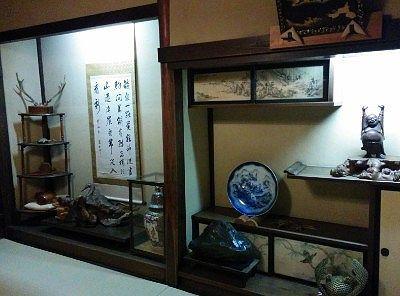歴史ある部屋の様子