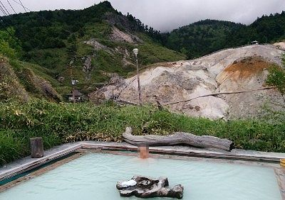 日進館の絶景露天風呂