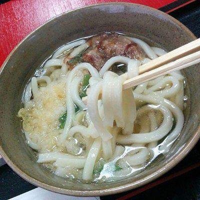 かけうどんの麺