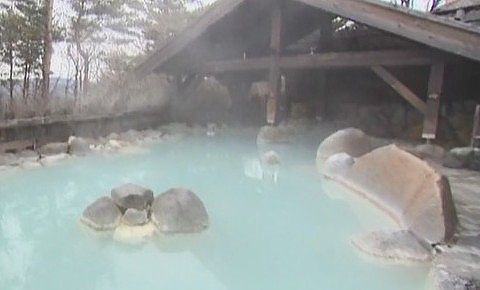 季の庭の露天風呂