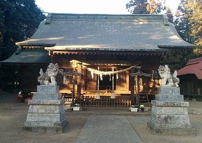 二宮赤城神社拝殿