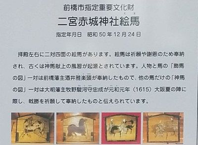 二宮赤城神社絵馬説明