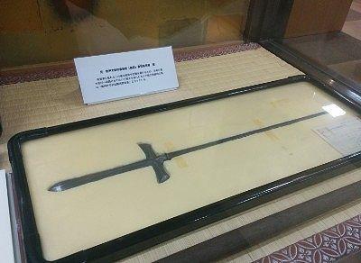 前橋東照宮宝物元 松平大和守家家臣(鷹匠)有賀家所蔵の槍