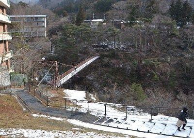 滝見公園展望台から見えた滝見橋