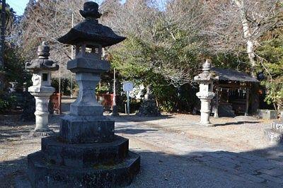瀧尾神社境内の様子