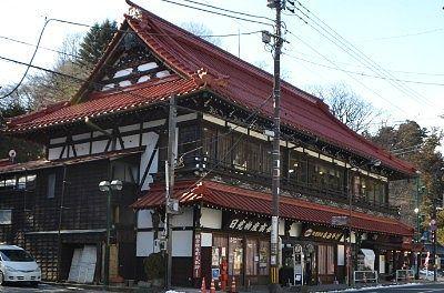 神橋となりの国の登録有形文化財の建造物