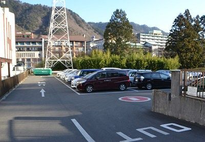 鬼怒川観光ホテル第1駐車場