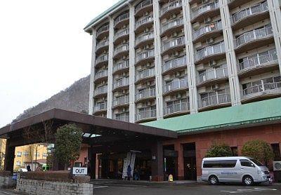 鬼怒川観光ホテルエントランス