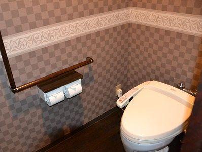 シャワートイレの様子