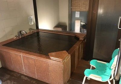 貸切風呂の内風呂
