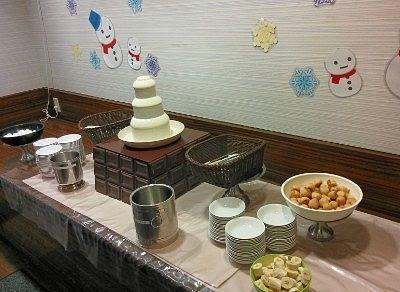 ホワイトチョコレートフォンドゥ