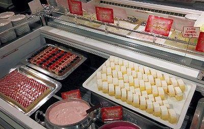 とちおとめ果汁レアストロベリーケーキ、北海道産クリームチーズレアケーキチーズ