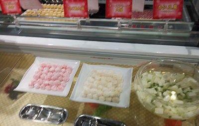 イチゴ大福、チーズクリーム大福、杏仁豆腐