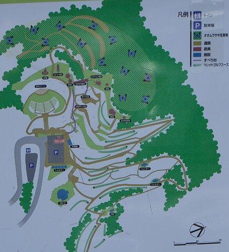 立石公園園内マップ