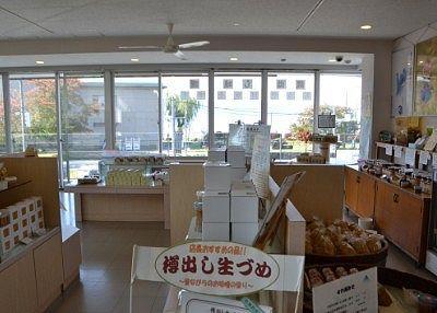 タケヤ味噌会館売店の様子