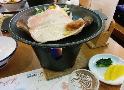 豚肉の陶板焼き