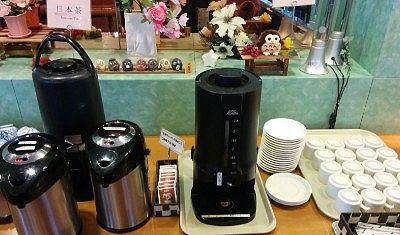 日本茶とホットコーヒー