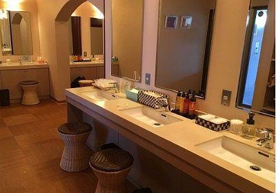 女湯の洗面台