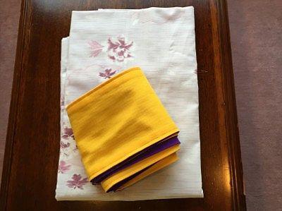 女性用浴衣と帯