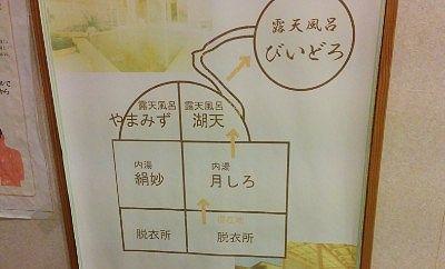 大浴場見取り図
