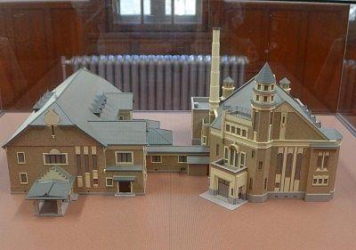 片倉館の模型
